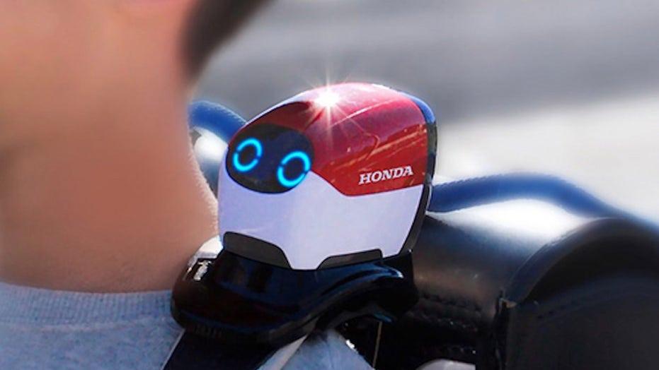Honda's clever Ropot helps kids cross the street