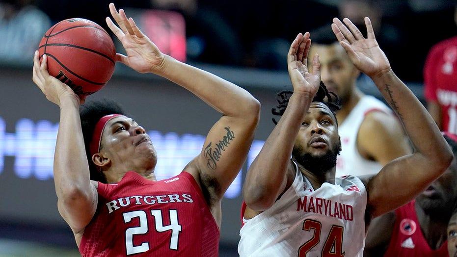 Harper carries No. 19 Rutgers past Maryland 74-60 in Big Ten