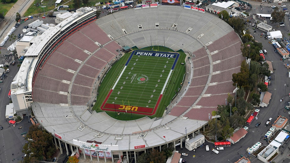 College Football Playoff semifinal moved from Rose Bowl Stadium to AT&T Stadium