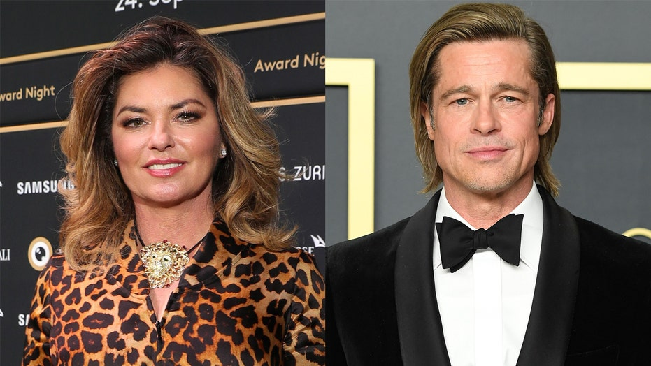 Brad Pitt received cheeky birthday wish from Shania Twain: 'I'll make an exception'