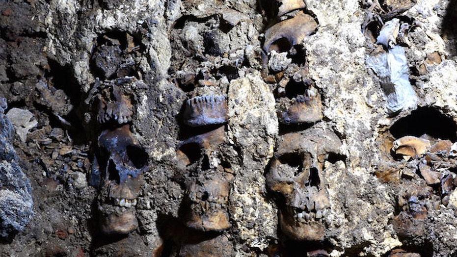Aztec 'tower of skulls' reveals more of its gruesome secrets