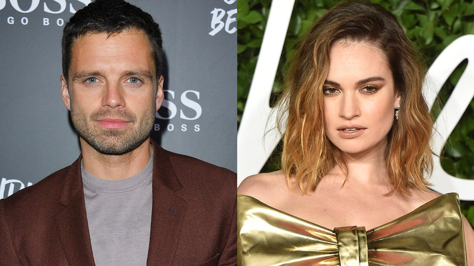 Lily James and Sebastian Stan to play Pamela Anderson and Tommy Lee in Hulu series