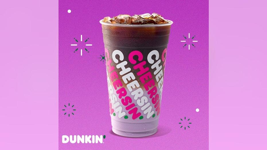 Dunkin' releases purple 'Sugarplum Macchiato' ahead of holidays