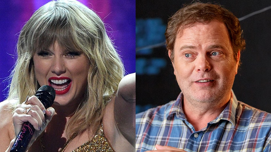 Taylor Swift gets into hilarious Twitter exchange with 'The Office' star Rainn Wilson