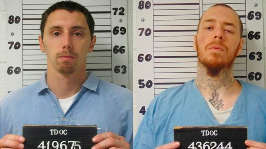 Escaped Tennessee prison inmates found in Florida after manhunt: cops