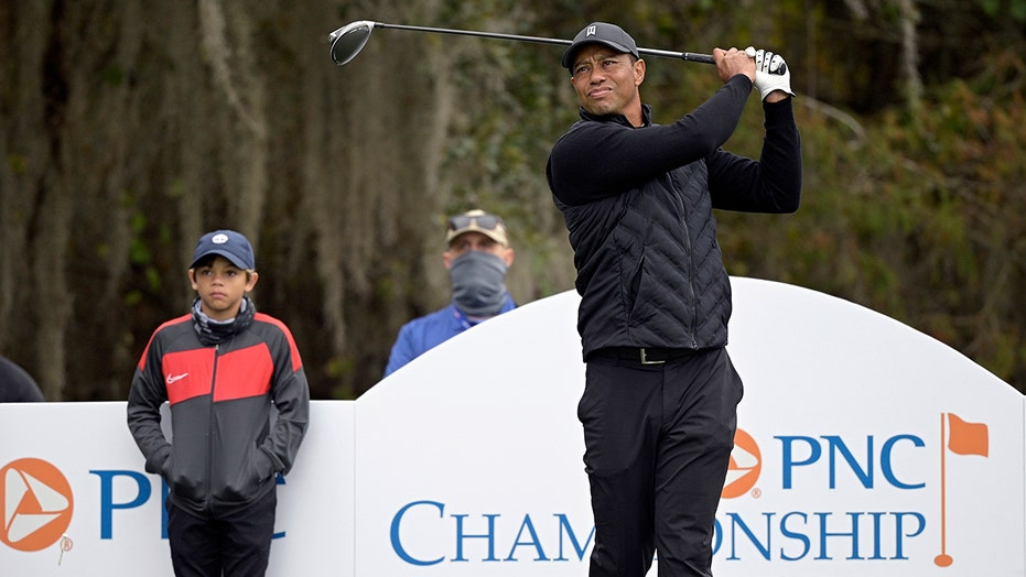 When it's Tiger Woods, the son becomes more famous than dad