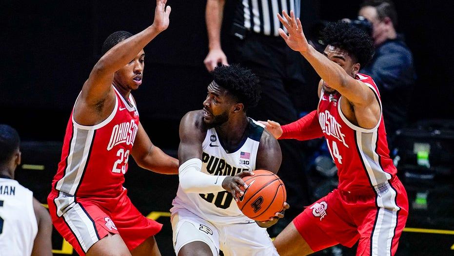Williams, Hunter lead Purdue past No. 20 Ohio State 67-60