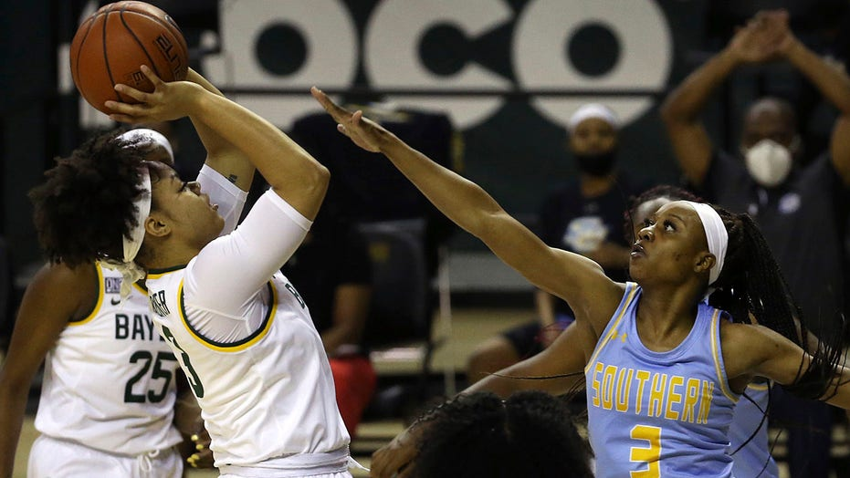 Egbo, Smith help No. 7 Baylor women ease past Southern 86-52