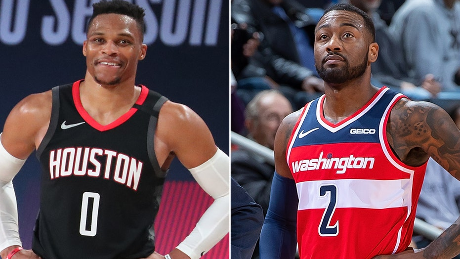 Rockets trade Russell Westbrook to Wizards in exchange for John Wall:  reports | Fox News