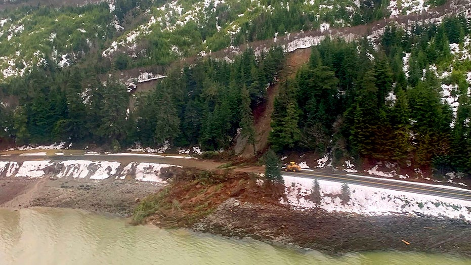 Search continues for 2 missing in Alaska mudslides as more rain, snow forecast