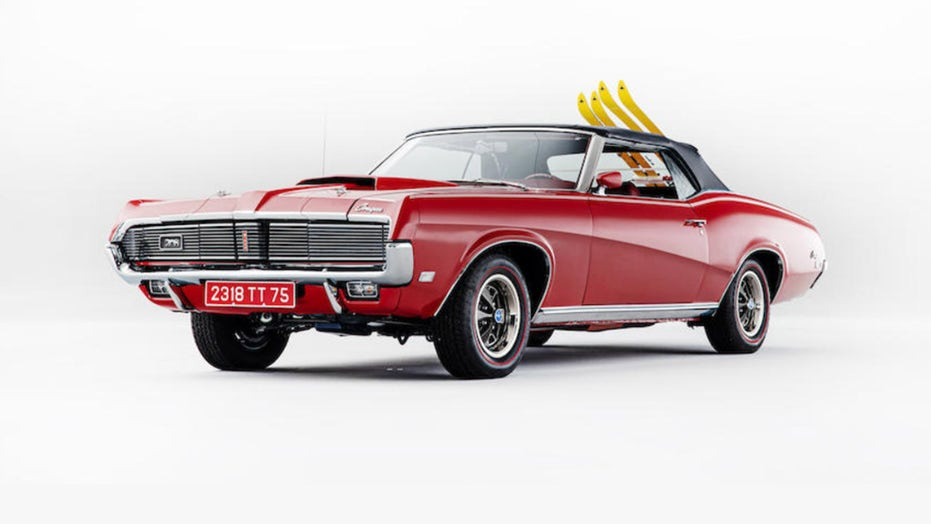1969 Mercury Cougar from James Bond 007 film ready to shake up the auction block