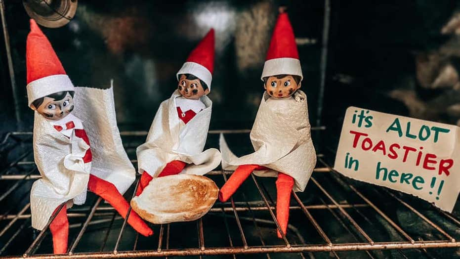 Parents issue hilarious warning after accidentally baking 'Elf on the Shelf': 'Bake cookies, not elves'
