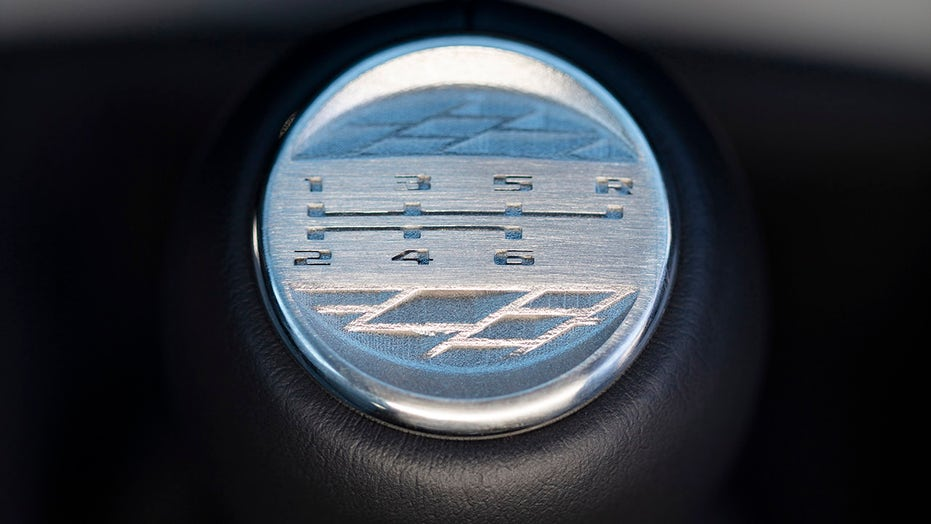 Cadillac reveals stick shift for new 'Blackwing' high performance models