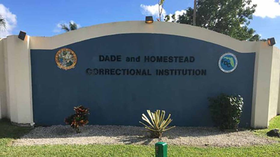 Florida prison guard nabbed for allegedly trafficking cocaine to inmates