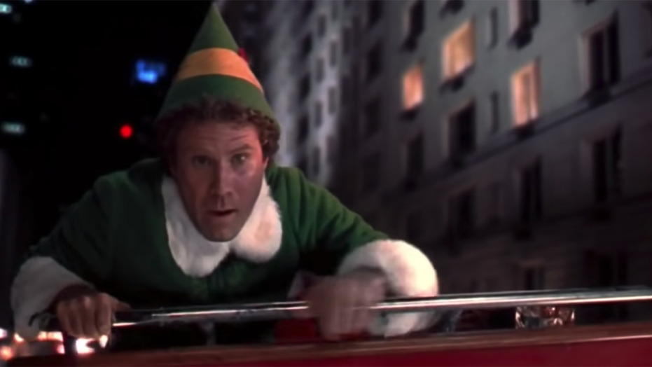 Ed Helms says he wants to take Senate from Mitch McConnell's 'cold purple hands' during 'Elf' reunion