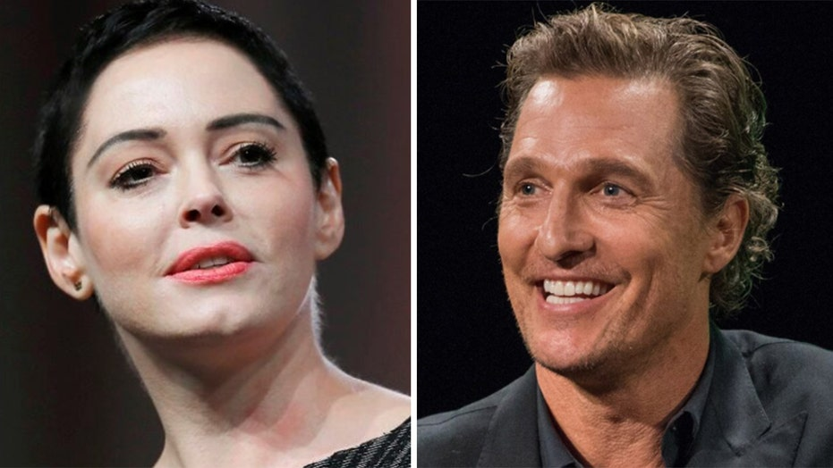 Rose McGowan backs Matthew McConaughey on hypocrisy from liberal celebs: 'Hollywood has been condescending'