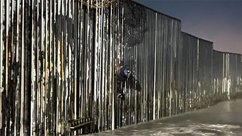 Border Patrol rescues Mexican migrant found hanging from border wall in California