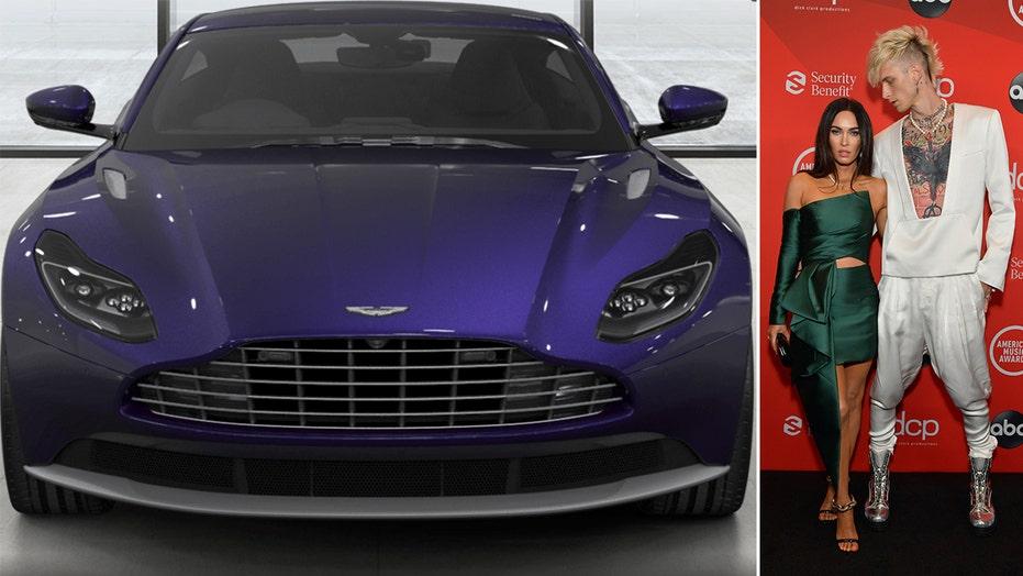 Machine Gun Kelly's stolen Aston Martin recovered by LAPD