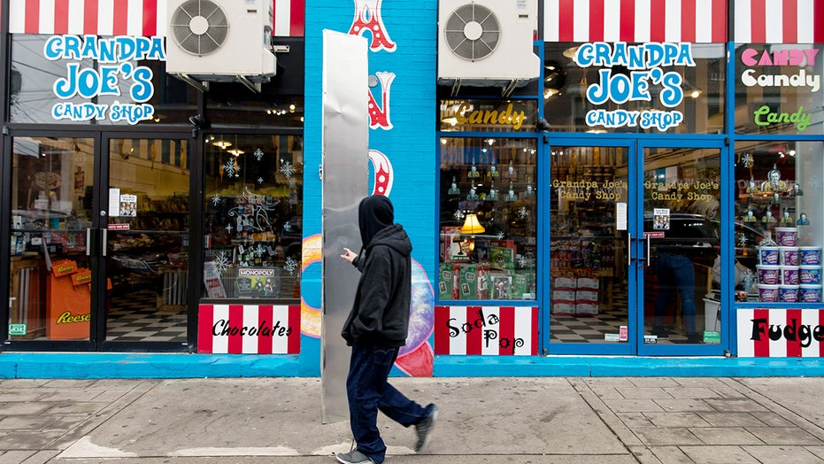 'Mysterious' monolith outside Pittsburgh candy shop replaced after disappearing over weekend