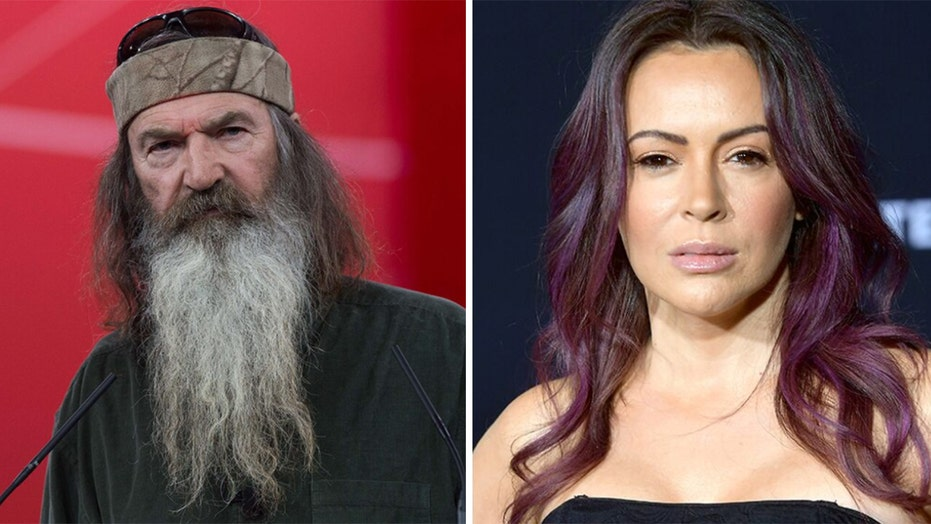 Phil Robertson, Alyssa Milano rail against coronavirus relief bill: 'Politicians put people out of work'