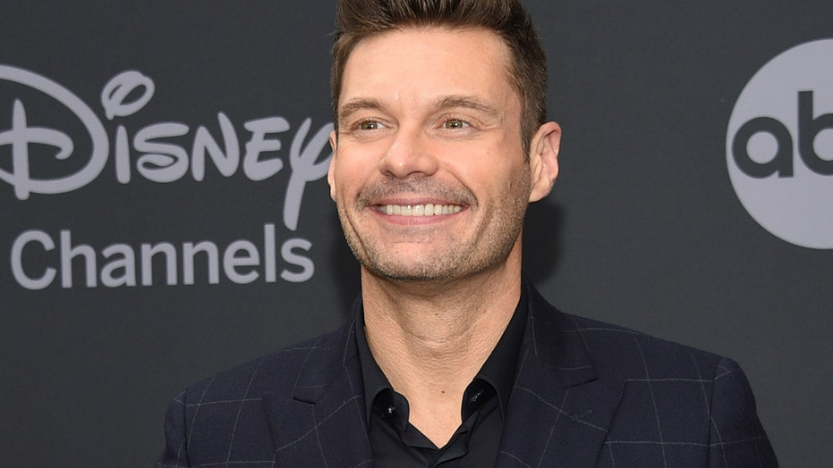 Ryan Seacrest spotted out with model Aubrey Paige