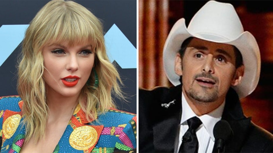 Taylor Swift replaced by Brad Paisley in famous Nashville mural celebrating country artists, fans left furious