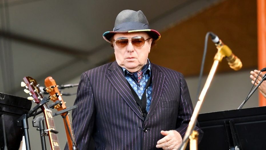 Van Morrison slams politicians who 'haven't missed a paycheck' since lockdown in UK