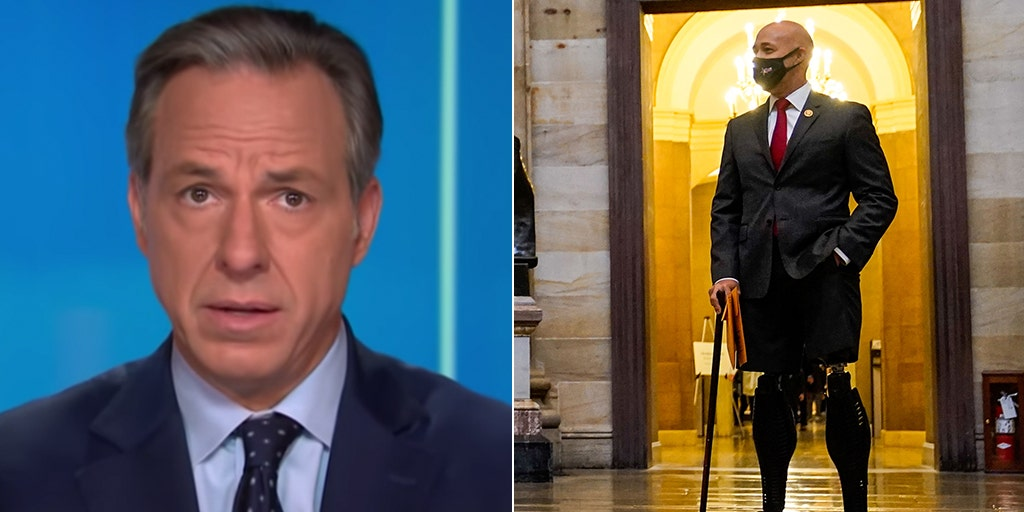 CNN's Jake Tapper blasted for questioning disabled veteran GOP rep's patriotism for opposing impeachment