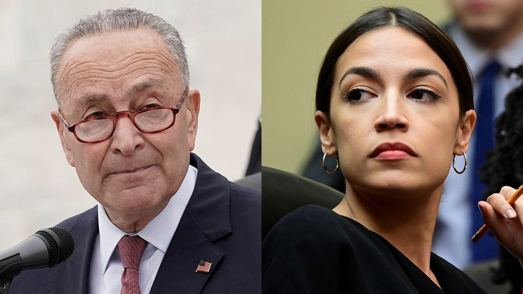 'Squad' leader won't rule out challenging Dem's Senate leader Chuck Schumer