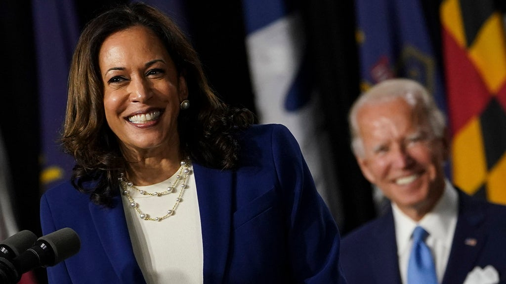 Harris called out for laughing at serious questions