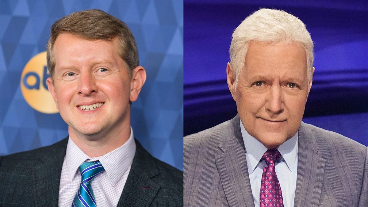 Jeopardy' guest host Ken Jennings pays tribute to Alex Trebek ...