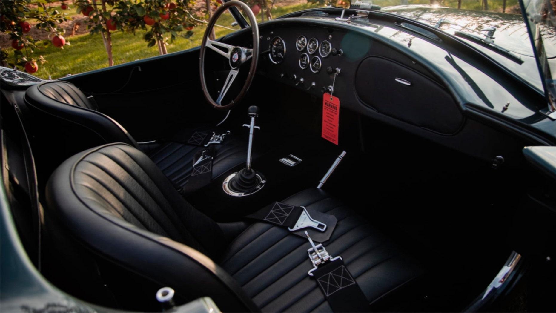 Carroll Shelby's 1965 Shelby 427 Cobra