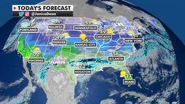 Heavy rains to drench the South, while West expected to get drought relief