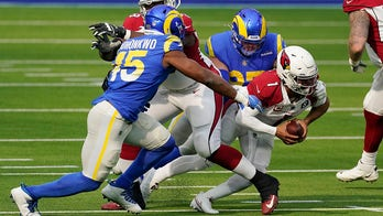Cardinals' Kyler Murray sidelined by ankle injury on first drive