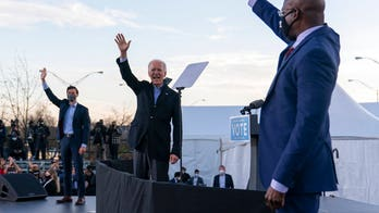 Billboards troll Warnock, Biden, Abrams over All-Star game as poll says public wants companies out of politics