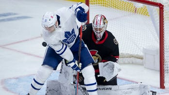 Thornton scores 1st goal for Toronto in win over Senators