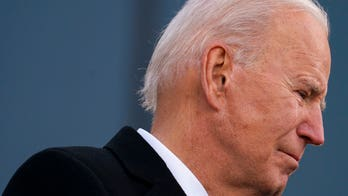 An emotional Joe Biden tries to put the Trump Show behind him