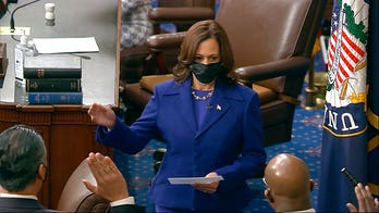 Democrats take control of the Senate as Warnock, Ossoff, Padilla sworn in