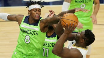 Balanced attack leads Timberwolves past Pelicans 120-110