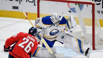Linus Ullmark perfect in shootout, Sabres beat Capitals