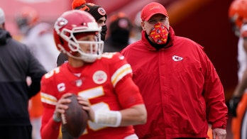 Andy Reid on Patrick Mahomes' rehab following toe surgery: 'He's worked his tail off'