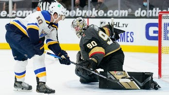 Minus coaching staff, Vegas loses to Blues 5-4 in shootout