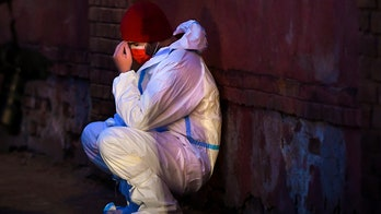 Fire at Romanian hospital treating virus patients kills 4
