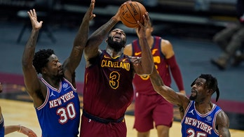 Drummond has 33 points, 23 boards as Cavs top Knicks 106-103