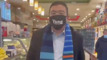 Andrew Yang caught joking he's 'been trying to escape New York for a while'