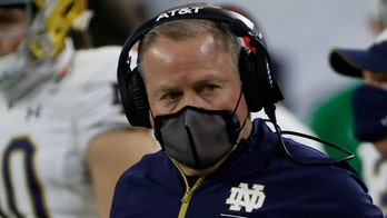 Notre Dame's Brian Kelly takes swipe at media after loss to Alabama