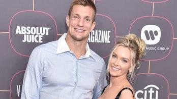 Camille Kostek celebrates boyfriend Rob Gronkowski's Super Bowl appearance