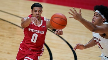 Trice's big second half sends No. 9 Wisconsin past Rutgers