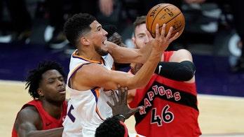 Suns drain 21 3-pointers, beat Raptors 123-115