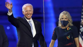 Media hail the Bidens for being affectionate — but not the Trumps